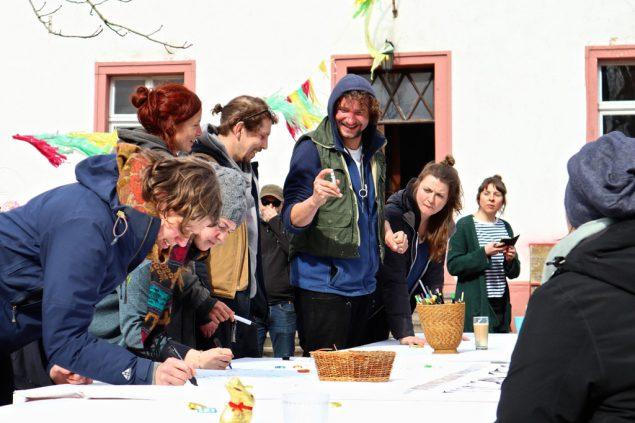 Kreativwerkstatt in Manderfeld (Bild: Anne Kelleter/BRF)