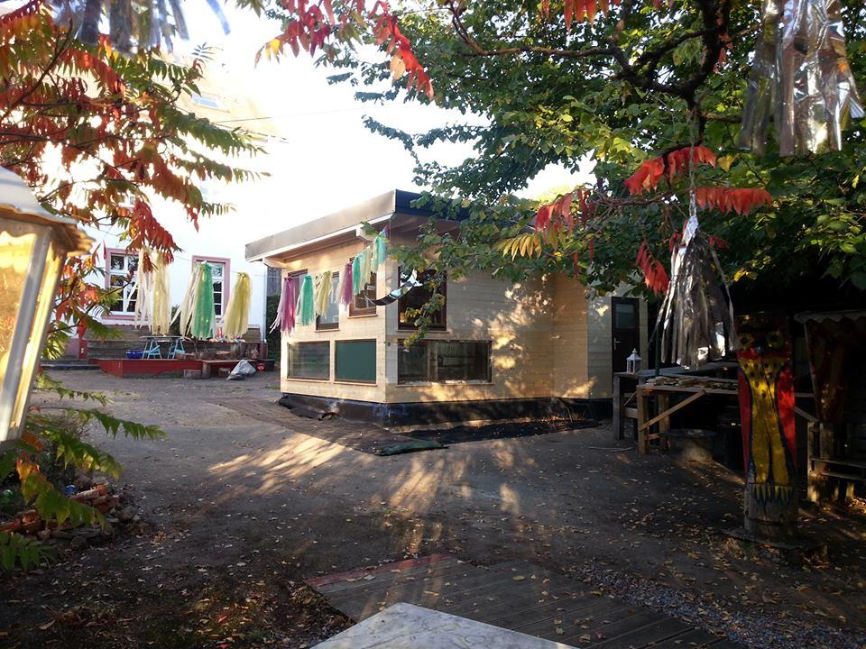 Haus Eulenburg Holzanbau